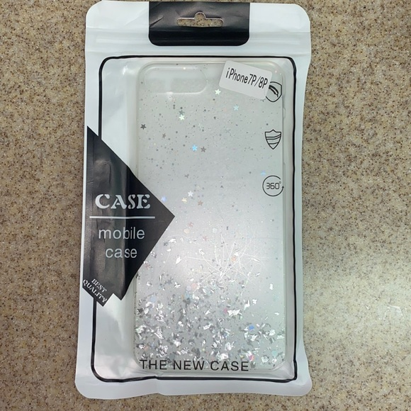 Glitter iPhone 7p/8